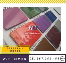 Jual Acp Seven Harga Murah Ready Stock Semua Warna Eksterior Dan Interior Tebal 4mm