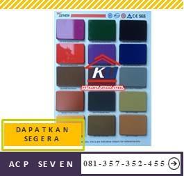 Jual Acp Seven Harga Murah Satu Lembar Semua Warna Doff Untuk Eksterior